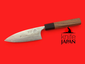 "Kuwahara Kaji Kobo | 'Migaki' polished deba-bocho | 120mm・4¾"" | Knife Japan"
