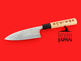 "Kuwahara Kaji Kobo | Ryoba deba-bocho | 125mm・5"" | Knife Japan"