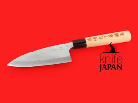 "Kuwahara Kaji Kobo | Ryoba deba-bocho | 145mm・5¾"" | Knife Japan"