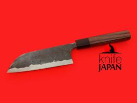 "Kuwahara Kaji Kobo | Black-forged Kayaki Bannou-bocho | 150mm・5.9"" | Knife Japan"