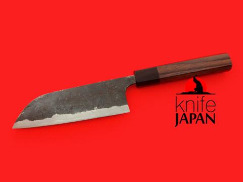 "Kuwahara Kaji Kobo   Black-forged Kayaki Bannou-bocho   150mm・5.9""   Knife Japan"