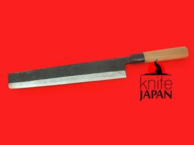 "Nakamura Hamono | Nojiyama Marunaka Left-handed Hamokiri | 300mm・11.8"" | Knife Japan"