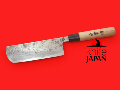 """Mikami Hamono nakiri-bocho   Aogami #1  165mm・6½""""   Knife Japan"""
