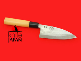 "Nakashima Hamono Single-bevel Ajikiri | 120mm・4¾"" | Knife Japan"