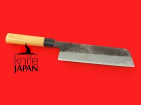 "Nojiyama Marunaka Usuba-bocho | Aogami #2 | 180mm・7"" |  Knife Japan"