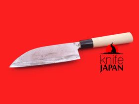 "Takahashi Kajiya Deba-bocho | 170mm・6.7"" | Shirogami#2 | Knife Japan"