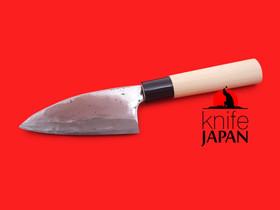 "Takahashi Kajiya Ko-deba bocho | 130mm・5.1"" | Shirogami#2 | Knife Japan"