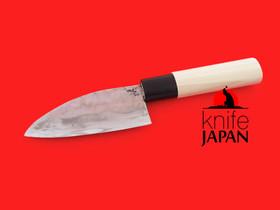 "Takahashi Kajiya Santoku-bocho | 110mm ・ 4.3"" | Shirogami #2 | Knife Japan"