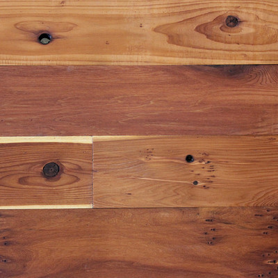 Reclaimed Redwood Paneling - Clear Oil Finish