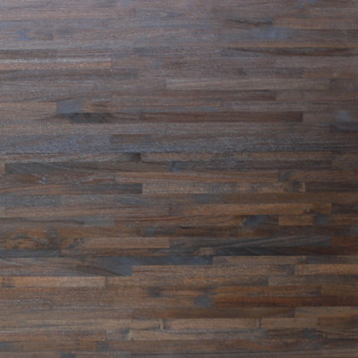 Reclaimed Teak Metro Flooring & Paneling - Wire Dark