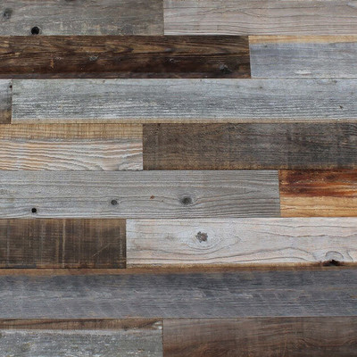 Reclaimed Weathered Lost Coast Redwood Paneling - Full range of colors