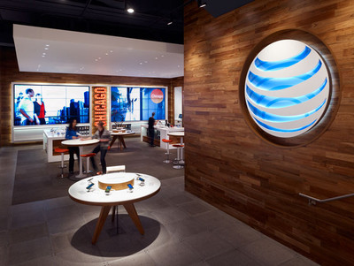 AT&T - Reclaimed Teak Paneling Install