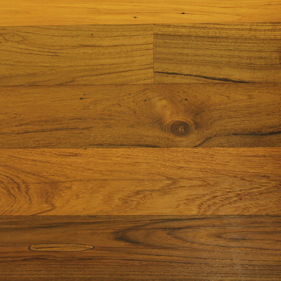 Reclaimed Teak Flooring & Paneling - Clear Oil Finish
