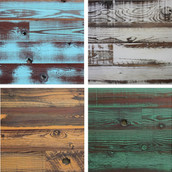 Reclaimed Lost Coast Redwood Paneling - Weathered & Tinted