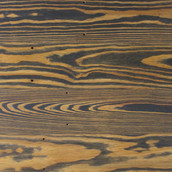 Reclaimed Pine Bleacher Stock Paneling - Textured and Tinted Black