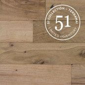 Rustic White/Red Oak Flooring & Paneling (51 Collection)