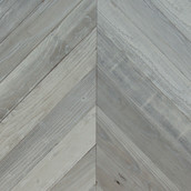 Lost Coast Redwood Weathered Paneling - Chevron - Fog (Sample)