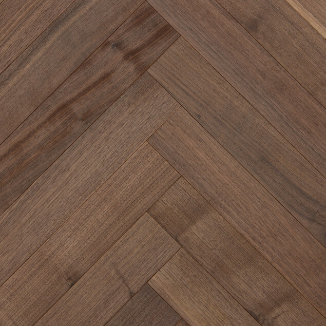 Reclaimed Walnut Herringbone Flooring Amp Paneling Sample