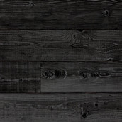 Reclaimed Lost Coast Redwood Shiplap 2.0 Paneling with Faux Sugi Ban Charcoal Finish