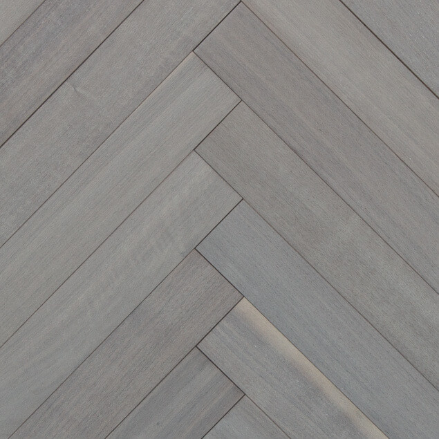 Reclaimed Walnut Herringbone Flooring & Paneling