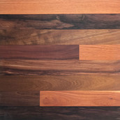 "3"" African Mix Paneling - Clear Oil (Sample - 51 Collection)"