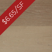 "MC White Oak 6"" Eng. Flooring & Paneling - Buttercream (Closeout)"
