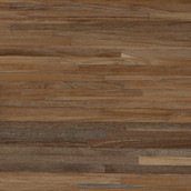 "Teak Metro 2-1/2"" - Unfinished (Closeout - Sample)"