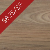 Teak Engineered Flooring & Paneling - Unfinished (Closeout)