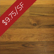 "Teak Engineered Flooring & Paneling - 5-3/8"" Wide - Clear Oil (Closeout)"