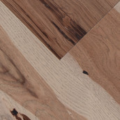 "Wide Plank Hickory 7"" Engineered Flooring & Paneling - Fawn (Sample)"