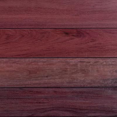 Purpleheart Decking - Oil