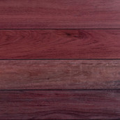 Purpleheart Decking - Oil