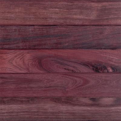 Purpleheart Siding - Oil