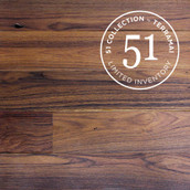 Surfaced Long Plank Teak Flooring & Paneling - Clear Oil (51 Collection)