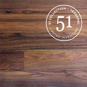 Surfaced Long Plank Teak Flooring & Paneling - Clear Oil (51 Collection Sample)