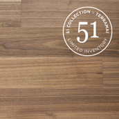"MC Walnut 7"" Engineered Flooring & Paneling - Clear Oil (51 Collection - Sample)"