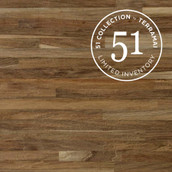 Teak Metro Solid Flooring & Paneling - Wire Brushed & Unfinished (51 Collection - Sample)