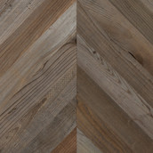 Lost Coast Redwood Weathered Paneling - Chevron