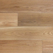 Wide Plank White Oak - Clear Grade - Oil