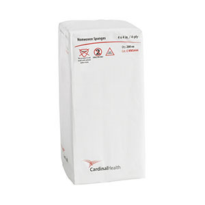 CARDINAL HEALTH NON-WOVEN ALL PURPOSE SPONGES C-NWS444