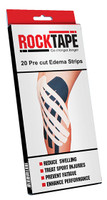 ROCKTAPE EDEMA STRIPS RCT100-BLK-ED