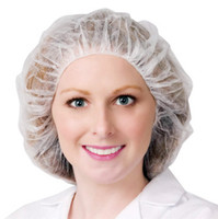 STREAMLINE BOUFFANT HEAD COVERS BCAP-W1000M DISPOSABLE CAPS
