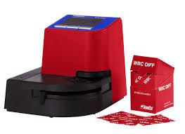 HEMOCUE W1PROMO WBC TEST ANALYZER WITH MICROCUVETTES HEMOCUE MACHINE 120623 W11217