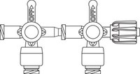 B BRAUN 456202 ULTRAPORT LUER-ACTIVATED NEEDLE-FREE STOPCOCKS