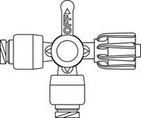 B BRAUN 456502 ULTRAPORT LUER-ACTIVATED NEEDLE-FREE STOPCOCKS