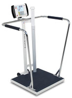 DETECTO 6857DHR WAIST-HIGH STAND-ON SCALE