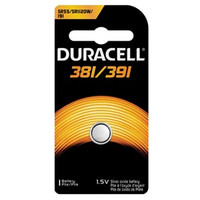 DURACELL D381/391PK MEDICAL ELECTRONIC BATTERY