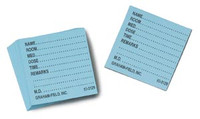 GRAHAM FIELD 3129P GRAFCO MEDICINE CARDS