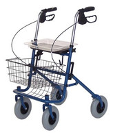 LUMEX RJ4200A DELUXE FOUR WHEELED ROLLATOR