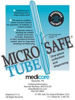 MEDICORE 1015-50 TUBES & ACCESSORIES